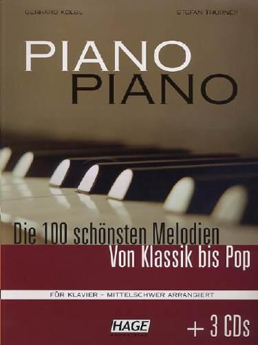 Hage PIANO PIANO mittelschwer + 3 CDs EH4643
