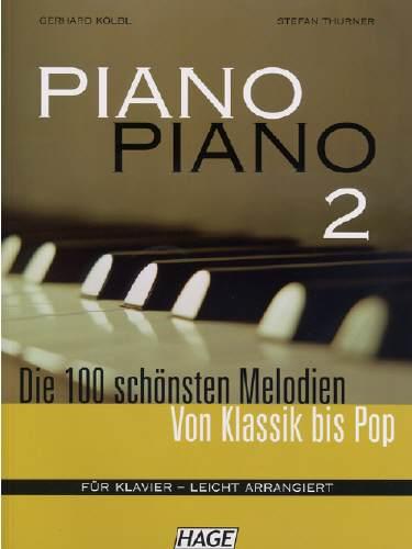 Hage PIANO PIANO 2 + 2 CDs EH4733