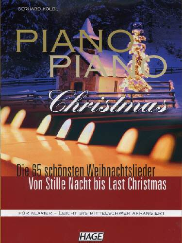 Hage PIANO PIANO Christmas EH3699