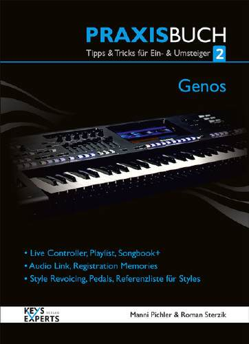 Yamaha Genos Praxis Buch Bd. 2 Yamaha Genos Praxisbuch Bd 2